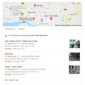 google my business agência digital porto