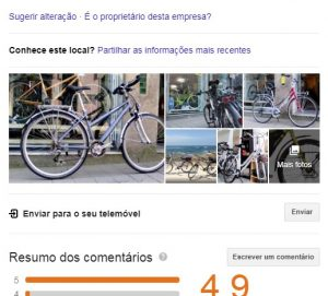 google my business agência digital porto 5 arranjar bicicletas porto