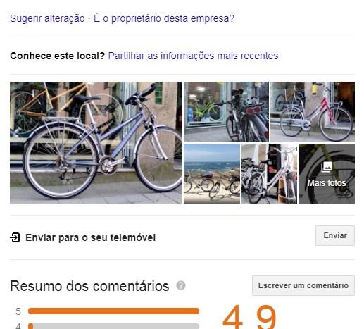 google my business agência digital porto 5 arranjar bicicletas porto