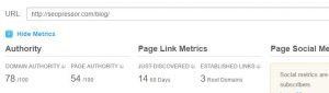 link building SEO off page MOZ