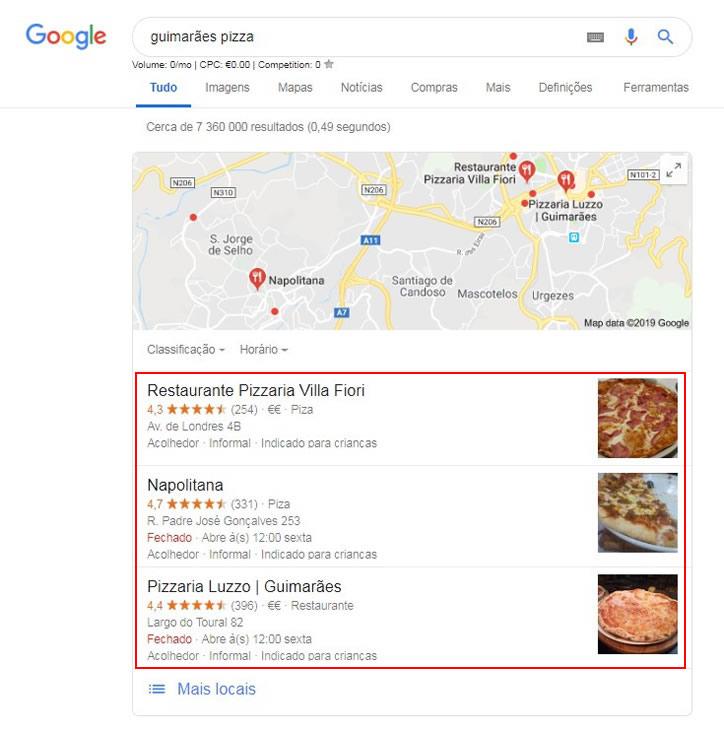 o que é SEO - Google Maps