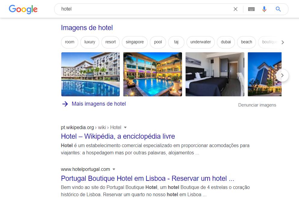 seo local hotel