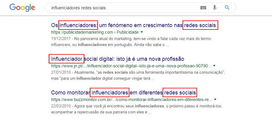 seo on page palavras-chave